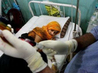 В Индии 114 детей госпитализированы из-за врачебной ошибки