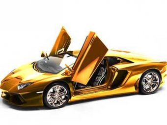 В ОАЭ продают самый дорогой в мире автомобиль из золота и бриллиантов