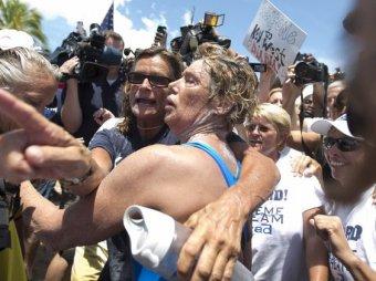 Пожилая американка проплыла от Кубы до США без защиты от акул
