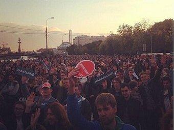 """Навальный заявил на митинге, что будет бороться с """"Единой Россией"""": «Когда наступит время поджигать, я так и скажу»"""