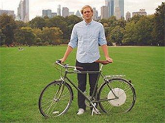"""Для велосипеда  создано """"умное"""" колесо: увеличивает скорость до 50 км/ч и защищает от угонщика"""