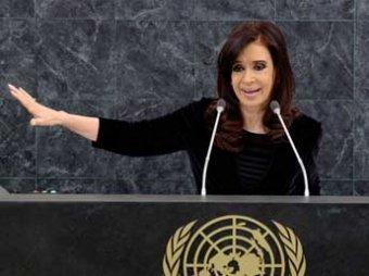 Аргентинский президент ушла на больничный из-за гематомы мозга