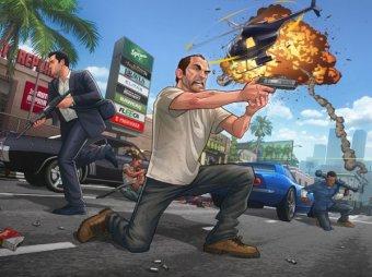 Новая игра GTA 5 побила 7 рекордов из книги Гиннеса