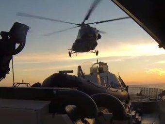 «Гринпис» обнародовал видео высадки спецназа на Arctic Sunrise