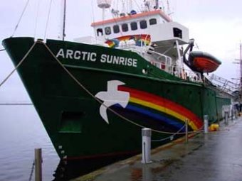 Суд отпустил под залог трех экологов Greenpeace с Arctic Sunrise