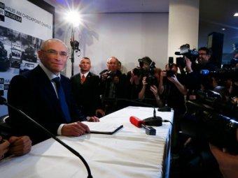 Ходорковский: вопрос бизнеса и политики для меня закрыт