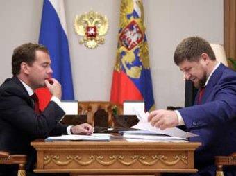 Дмитрий Медведев призвал Кавказ прекратить воровать газ, Кадыров с этим не согласен