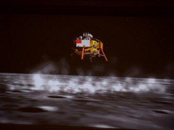"""Китайский луноход """"Нефритовый заяц"""" начал движение по Луне"""