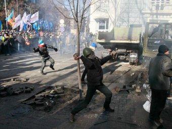 В Киеве возобновились беспорядки, МИД России обвинил в этом Запад