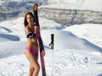 голые горнолыжницы