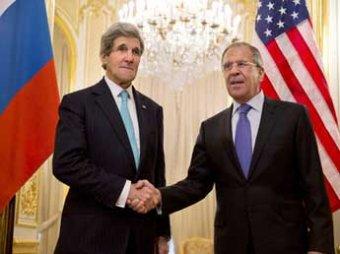 На встрече с Керри Лавров назвал единственный способ спасения Украины