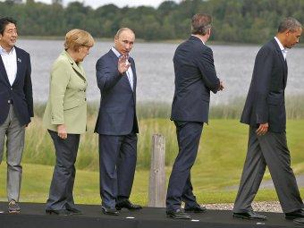 Путин не жалеет о возможном исключении из G8