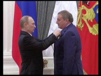 Путин вручил госнаграды организаторам Олимпиады и Паралимпиады в Сочи