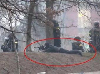 Американские СМИ обнародовали фото снайперов с Майдана без масок ...