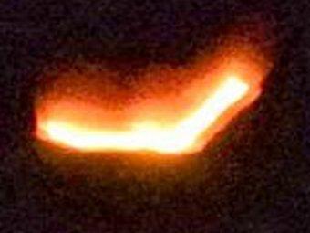 Над Землёй зафиксировали сразу несколько НЛО в форме треугольника