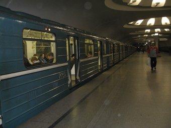 В московском метро студент ударило зеркалом заднего вида