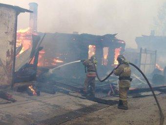 Страшный пожар под Иркутском: уничтожено 18 жилых домов