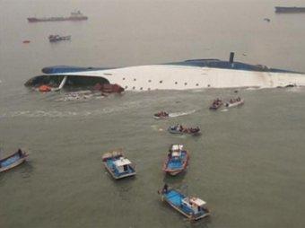 Число погибших затонувшего южнокорейского парома увеличилось до 54