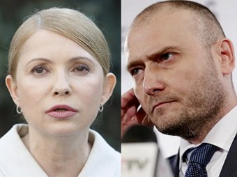Для Тимошенко и Яроша запрещен въезд в Крым
