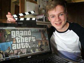 Подросток зарабатывает по $36 000 в год, играя в GTA