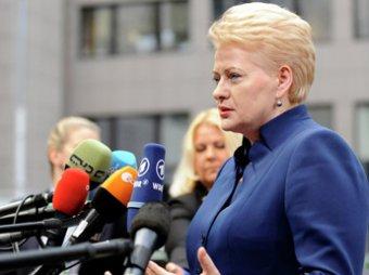 Скандал: президент Литвы сравнила политику Путина с действиями Сталина и Гитлера