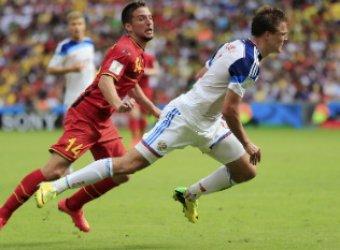 Россия - Бельгия: счет 0:1 осложнил выход россиян в плей-офф ЧМ-2014 по футболу (ВИДЕО)