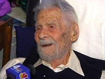 В США скончался самый старый мужчина в мире