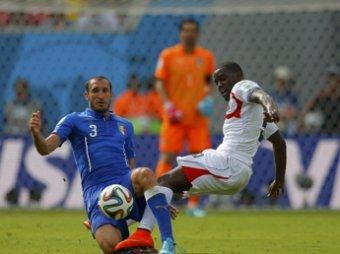 ЧМ-2014 по футболу: Коста-Рика обыграла Италию со счетом 1:0 (видео)