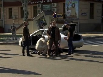 Убийство помощника Пушилина попало на камеры наблюдения