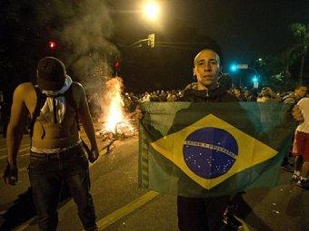 Разгром Бразилии на ЧМ вызвал волну грабежей и погромов