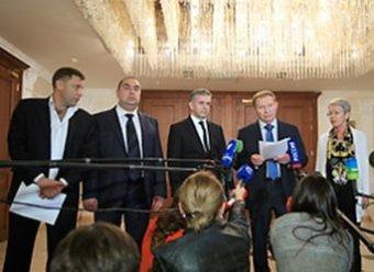 В Минске украинские власти и ополченцы согласовали условия перемирия