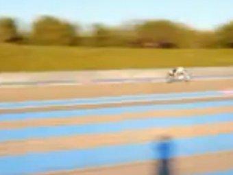 Обогнавший Ferrari реактивный велосипед покорил YouTube