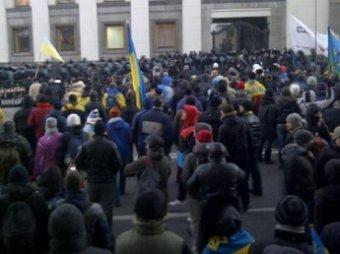 Новости Новороссии и Украины на 28 декабря: У Верховной Рады собрались на митинг «Автомайдан» и «Финансовый майдан»