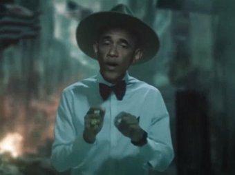Ролик с танцующим Обамой стал хитом Интернета