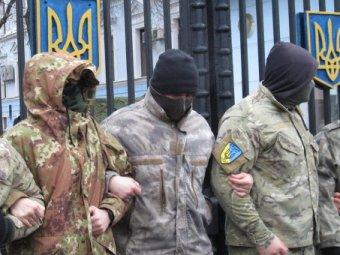 """Бойцы батальона """"Айдар"""" пошли на штурм здания Минобороны Украины в Киеве (видео)"""