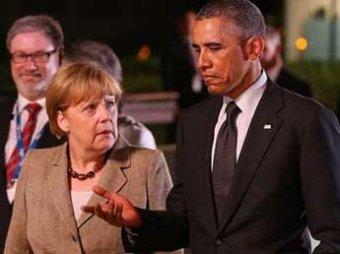 Обама и Меркель договорились об усилении санкций против РФ