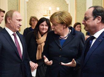 Меркель: Владимир Путин убедил ополченцев согласиться на перемирие