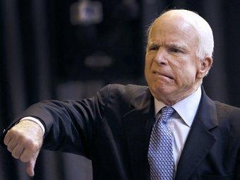 Маккейн раскритиковал Меркель за нежелание вооружать Украину