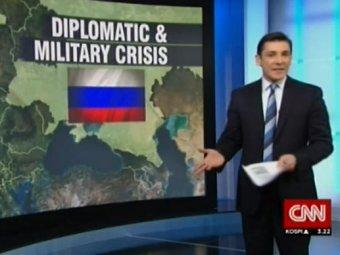 """CNN """"присоединил"""" Украину к России"""