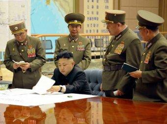 Ким Чен Ын заявил о готовности к ядерной войне с США