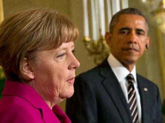 Лидеры США и Германии договорились о сохранении санкций против России