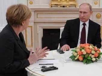 Меркель выдвинула Путину ультиматум - ИноСМИ