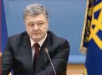 Говоря об обстреле Краматорска, Порошенко едва не расплакался