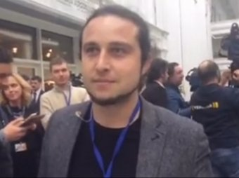 Журналист LifeNews облаял украинских коллег на саммите в Минске