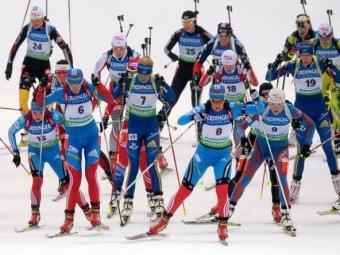 Российские биатлонисты выступят в масс-старте на этапе КМ