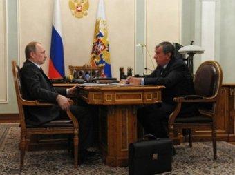 Bloomberg рассказал о трещине в отношениях Путина и Сечина