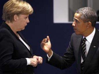 Меркель убедила Обаму не поставлять оружие на Украину
