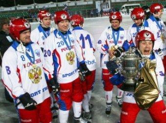 Сборная России стала чемпионом мира по хоккею с мячом, победив Швецию в финале (видео)