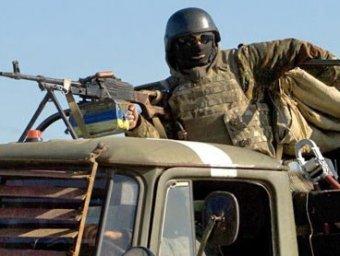 Грузовик c украинскими силовиками подорвался на фугасе: 4 погибших