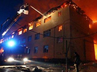 Пожар в общежитии РНИМУ им. Пирогова: пострадали 42 человека (видео)